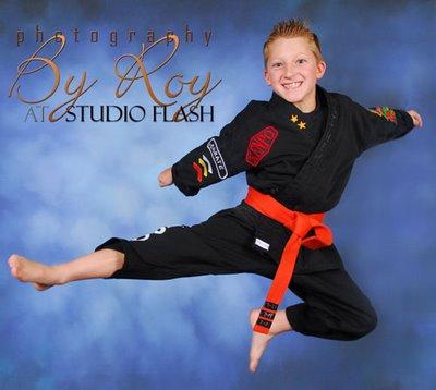 Karate School Photography